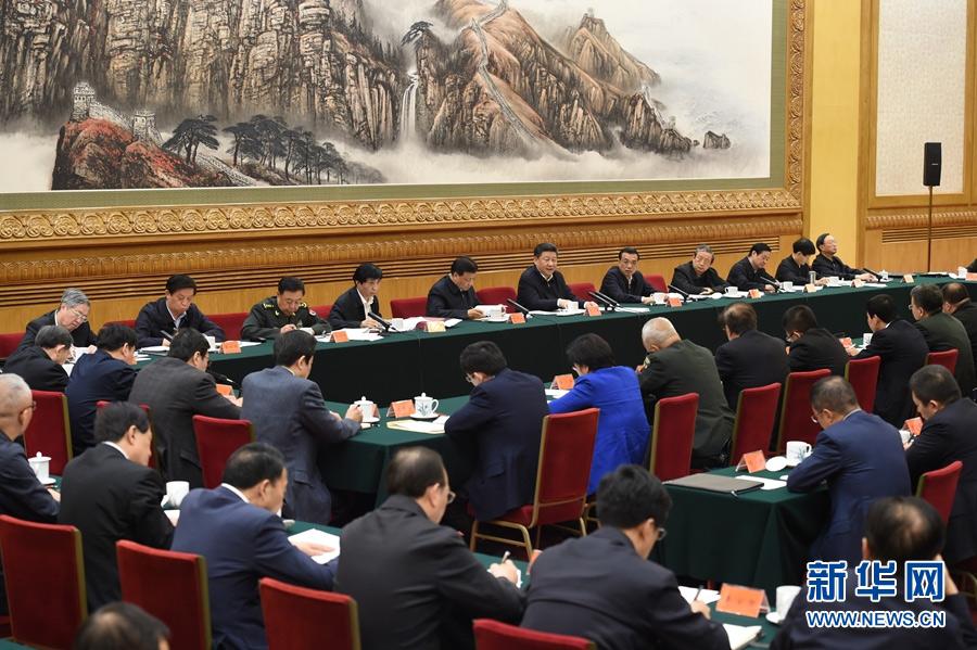 4月19日,中共中央总书记、国家主席、中央军委主席、中央网络安全和信息化领导小组组长习近平在北京主持召开网络安全和信息化工作座谈会并发表重要讲话。新华社记者 张铎 摄