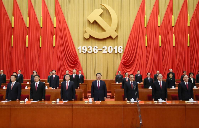 10月21日,纪念红军长征胜利80周年大会在北京人民大会堂隆重举行。习近平、李克强、张德江、俞正声、刘云山、王岐山、张高丽等出席大会。