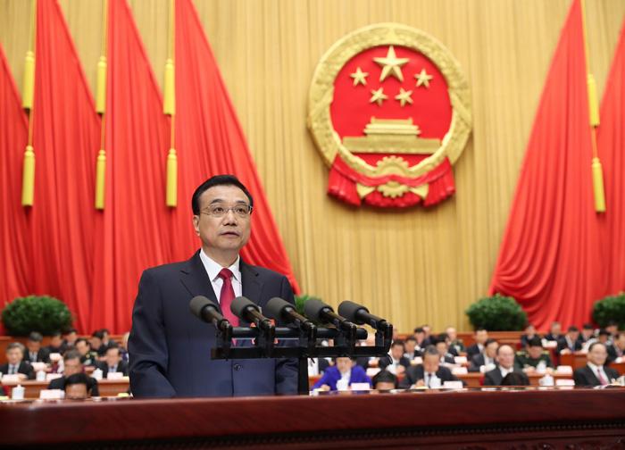 3月5日,第十二届全国人民代表大会第五次会议在北京人民大会堂开幕。国务院总理李克强作政府工作报告。