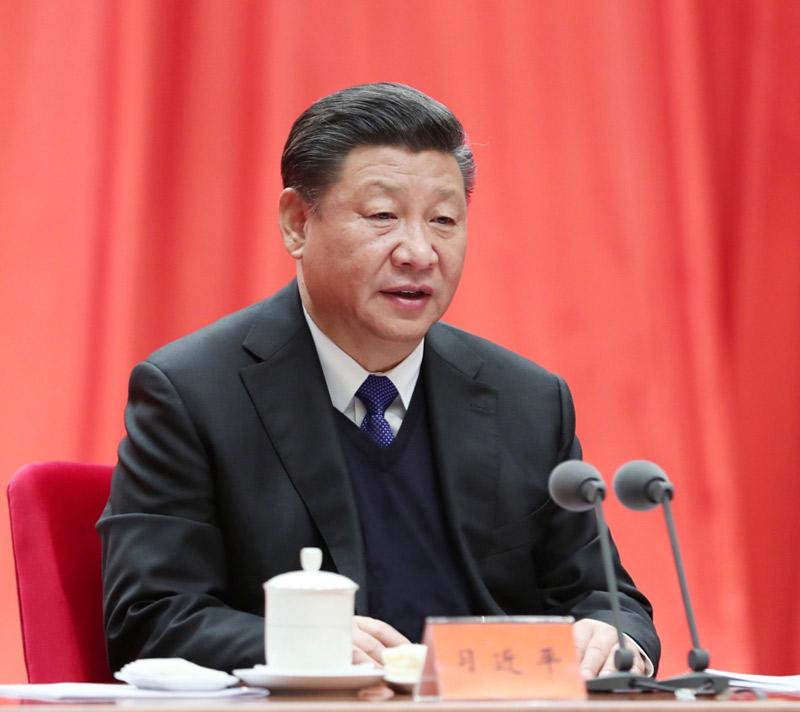 1月11日,中共中央总书记、国家主席、中央军委主席习近平在中国共产党第十九届中央纪律检查委员会第二次全体会议上发表重要讲话。
