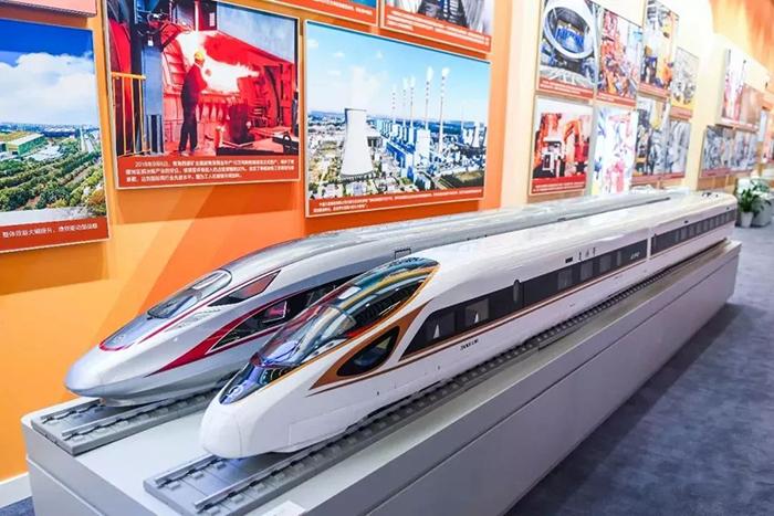 复兴号高速列车。