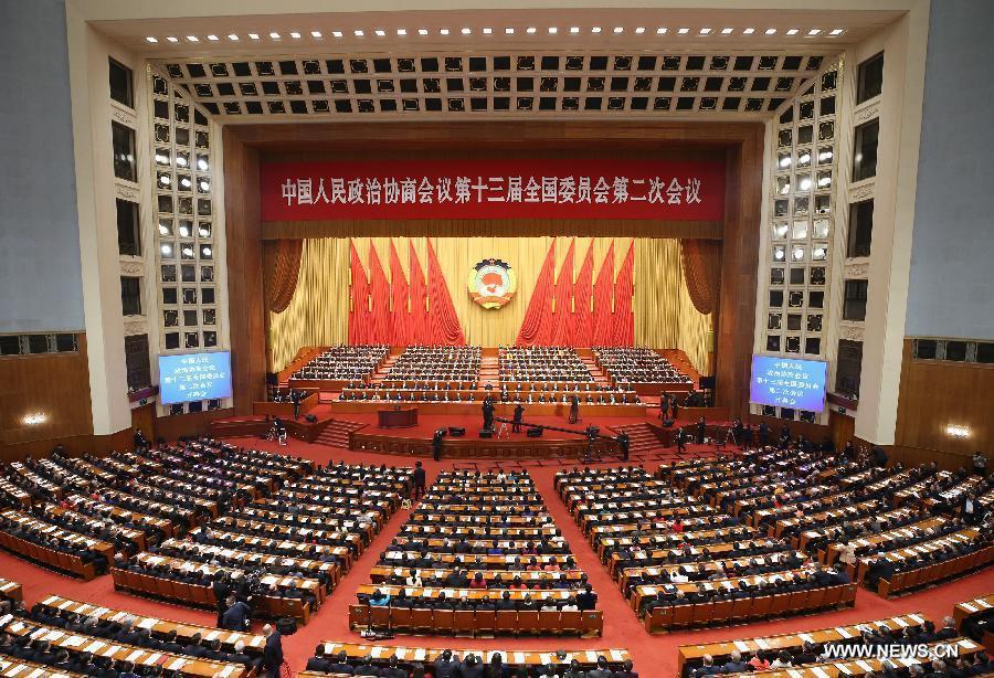 الجهاز الاستشاري السياسي الأعلى في الصين يبدأ جلسته السنوية