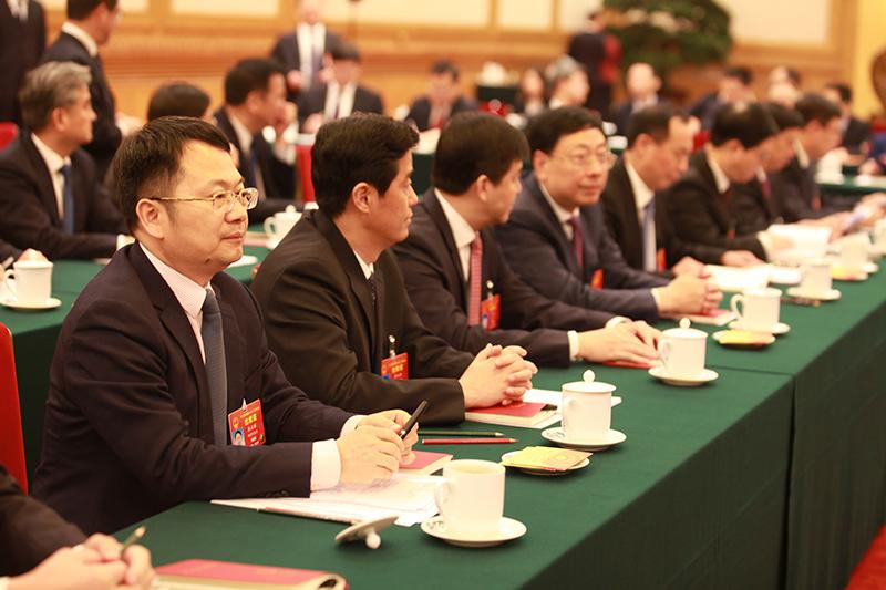 福建代表团会场