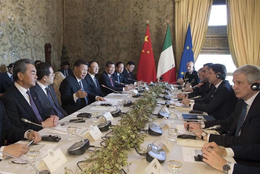 Italy becomes 1st G7 nation to endorse China's
