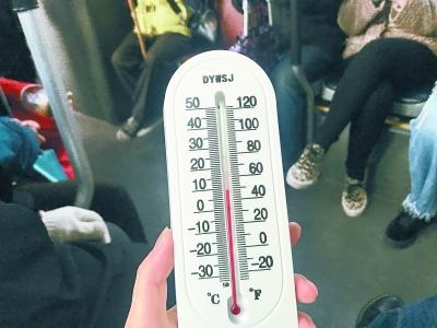 北京一線路公交車廂不足10℃ 工作人員:電動公交電池有限