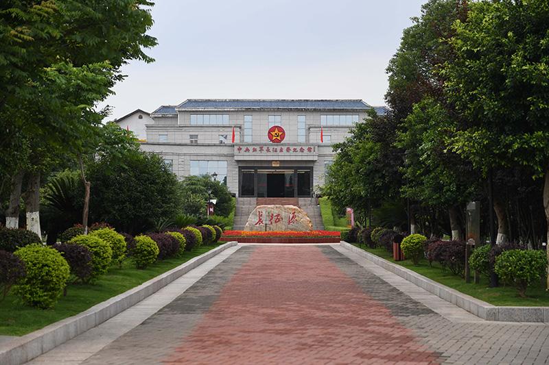 这是位于江西省于都县的中央红军长征出发纪念馆(2019年5月20日摄)。新华社记者 周密 摄