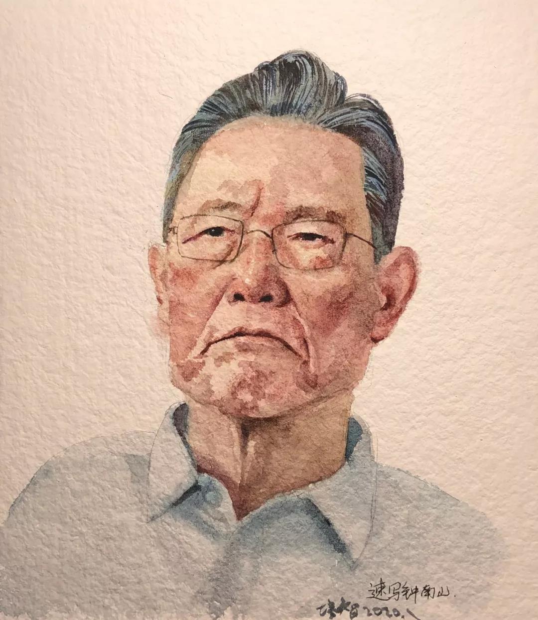 赵培智  生命捍卫者―钟南山