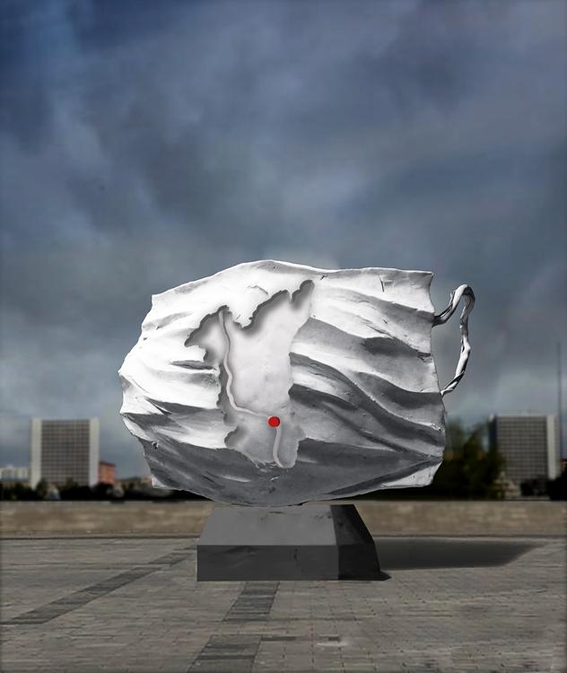 《馳援》熊文穎  林印吉   雕塑