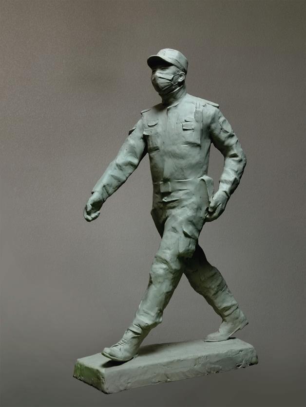 李烜峰 《守護者》 雕塑 2020年