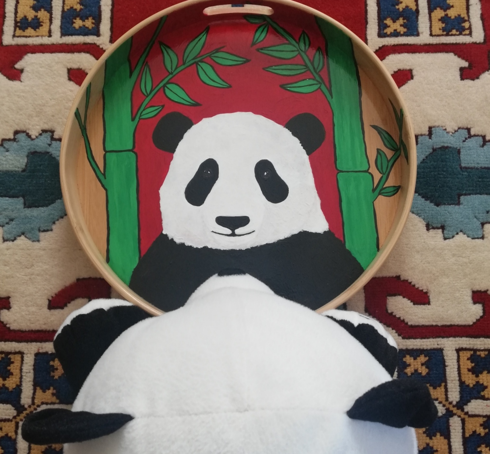作品名:Panda Through the Looking Glass 绘制者:İrem Akkuşz,土耳其