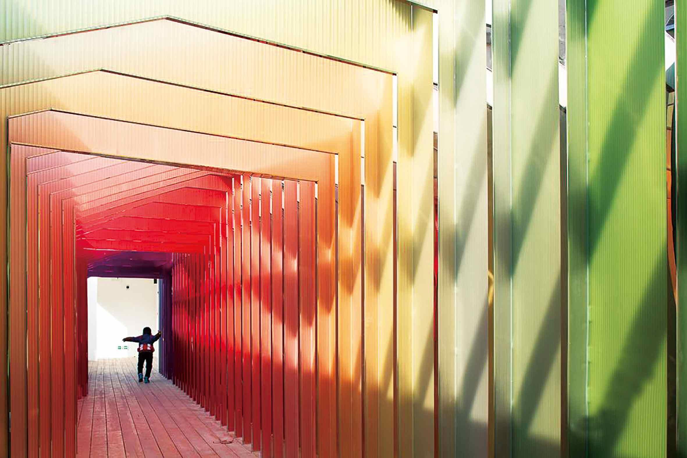 劉海粟美術館于2018年12月正式落成的潑墨長廊