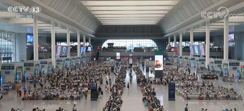 7月份全国铁路发送旅客2.07亿人次 旅客出行大幅回升