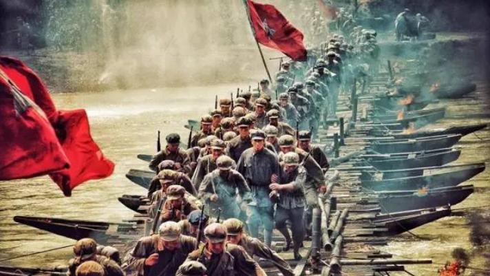 △湘江战役是关系中央红军生死存亡的一战