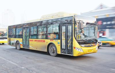 哈尔滨市公共电车总公司所属的101、102、103三条公交线路高清图片