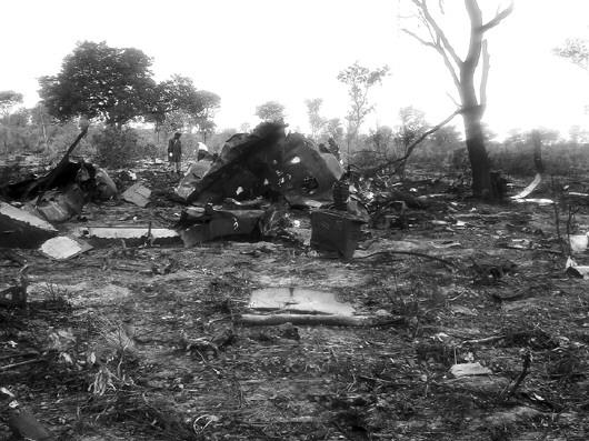 莫桑比克11月29日失踪的tm470航班客机的残骸在