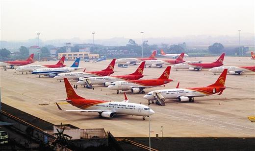 南宁机场先后接收从重庆