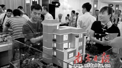乐添·星际半岛首期12665元/平方米的别墅售价优势明显.陈文娜 摄