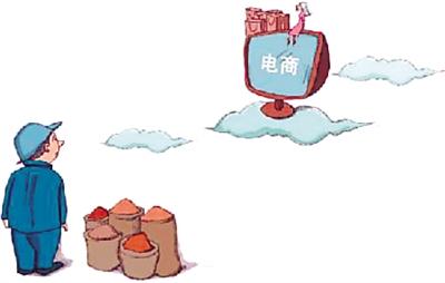活禽等农产品如果通过传统的销售渠道进入市场