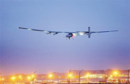 """世界上最大的太阳能飞机——""""阳光动力2号"""""""