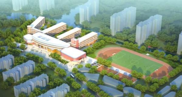 浐灞第二小学位于浐灞生态区浐灞半岛小区a3区域