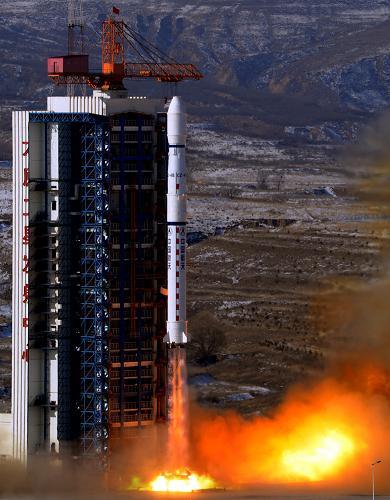 """В Китае произведен успешный запуск стереотопографического спутника """"Цзыюань-3"""""""