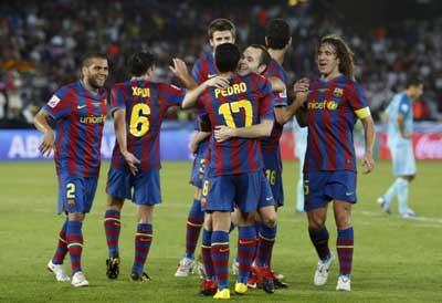 Cctv coupe du monde des clubs fc barcelone atlante 3 1 - Coupe du monde des clubs 2009 ...
