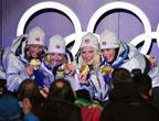 L´équipe norvégienne remporte le relais en ski de fond