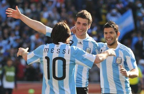 CoréeduSud-Argentine:1-4