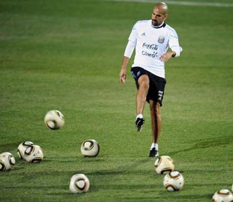 Mondial2010:l'Argentineestconfianteavantlechoc