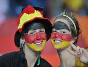 Mondial 2010 : les Allemands célèbrent leur 3ème place