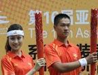 Jeux Asiatiques : l´uniforme des porteurs de la torche dévoilé
