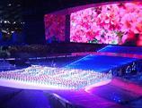 répétition de l'Ouverture de l'Universiade