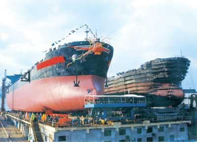 长兴岛造船基地