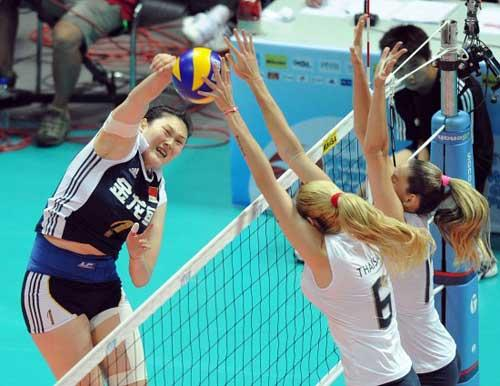 China Swept by Brazil 3-0 in World Volleyball World Grand Prix