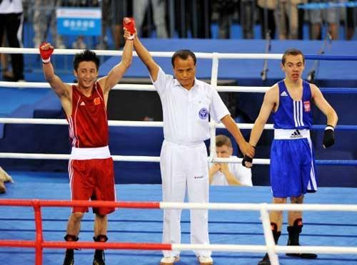 Olympic Boxing hero Zou Shiming Advances into Semi-finals at Combat Games