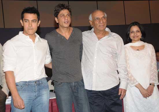 Indian film maker Yash Chopra Yash Chopra Family Photo