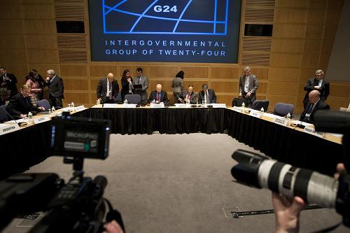 AnIntergovernmentalgroupof24emerginganddevelopingcountriesfromAsia,LatinAmericaandAfricahavemetinWashingtontodiscusshowtodealwiththefalloutoftheglobalfinancialcrisis.
