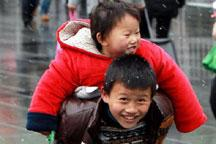 Spring Festival: Children on the move
