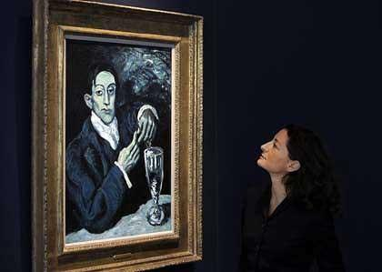 Christie's has put a record price tag on an important Picasso painting.