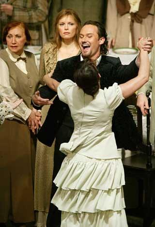 "Still of Moscow Bolshoi Theatre's ""Eugene Onegin"" (File Photo)"