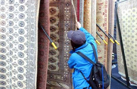 The ancient craft of Tibetan carpet making is getting a new face with a more stylish look.