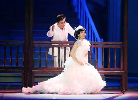 "Chinese musical, ""Jasmine Flower,"""