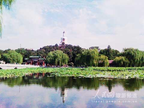Beihai park's lotus flower festival is in its 13th year.