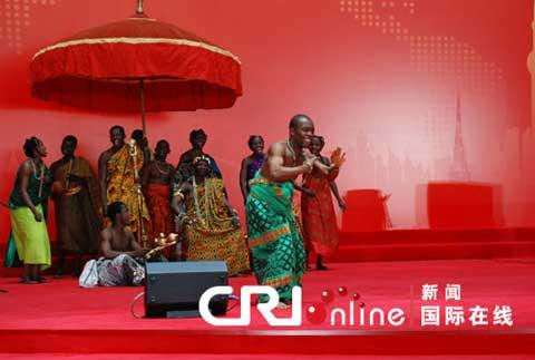 The Republic of Ghana is celebrating its National Pavilion Day on Thursday in Shanghai.