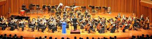 The show kicks off the national tour of the Cross-Strait Philharmonic Orchestra for 2010.