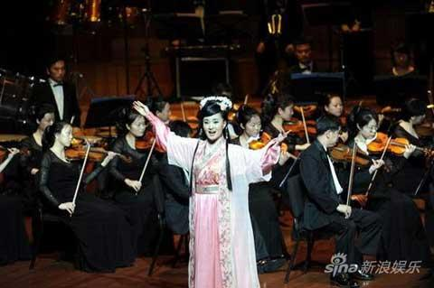 "The original Chinese opera ""Mulan Psalm"" was staged as a tribute to the 83rd anniversary of the PLA."