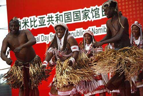 The African country of Namibia is celebrating its National Pavilion day on Thursday in World Expo park.