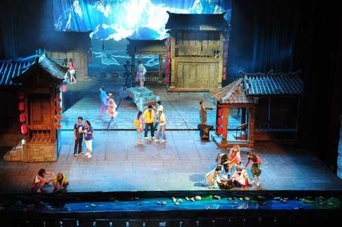 "Yun Nan Pavilion has staged a musical named ""Love Story in LiJiang""."