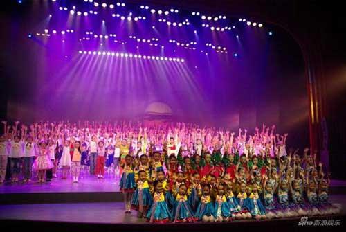 During the one week time, there were 20 children's music shows presented to audiences around Beijing.