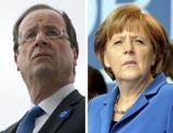 Hollande, Merkel et la crise de l'eurozone